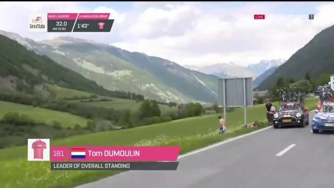 La imagen del Giro